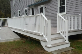 Azek Deck with Ramp, Marion Ma
