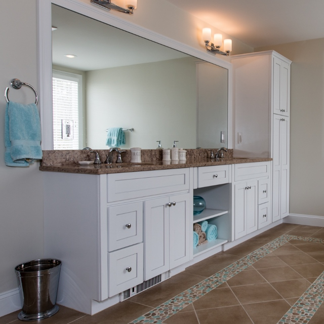 Master Bath, Huntwood Vanity Cabinet Scituate