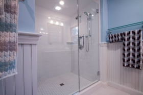 custom tile shower, Hanover
