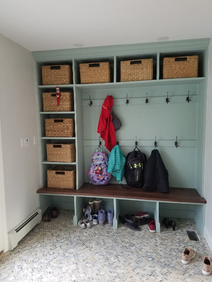 Mudroom cubbies Milton