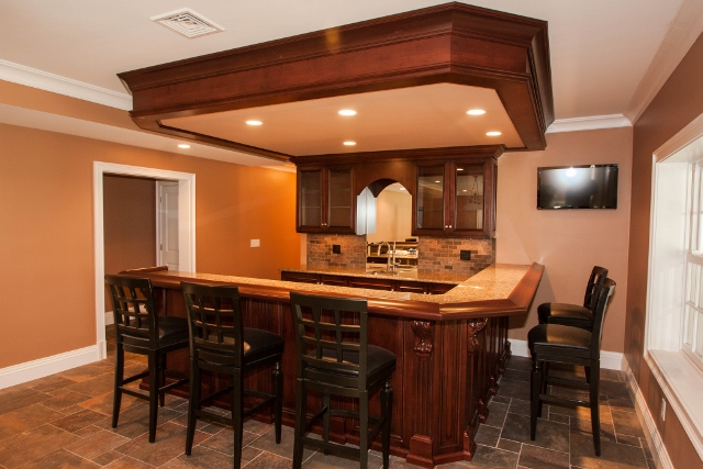 finished-basement-bar-hanover-ma